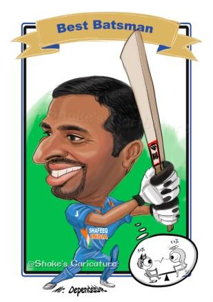 Shafeeq_meitu@Shake's Caricature