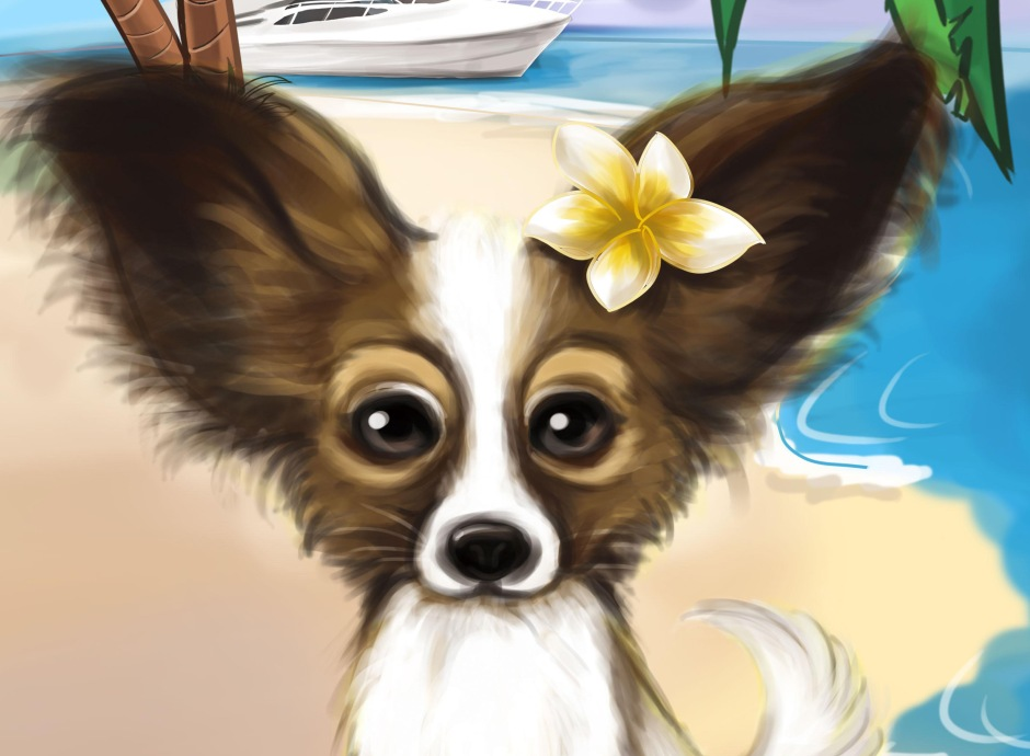 pet caricature _ logo
