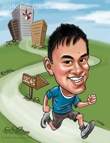 A_Runner@Shake's Caricature