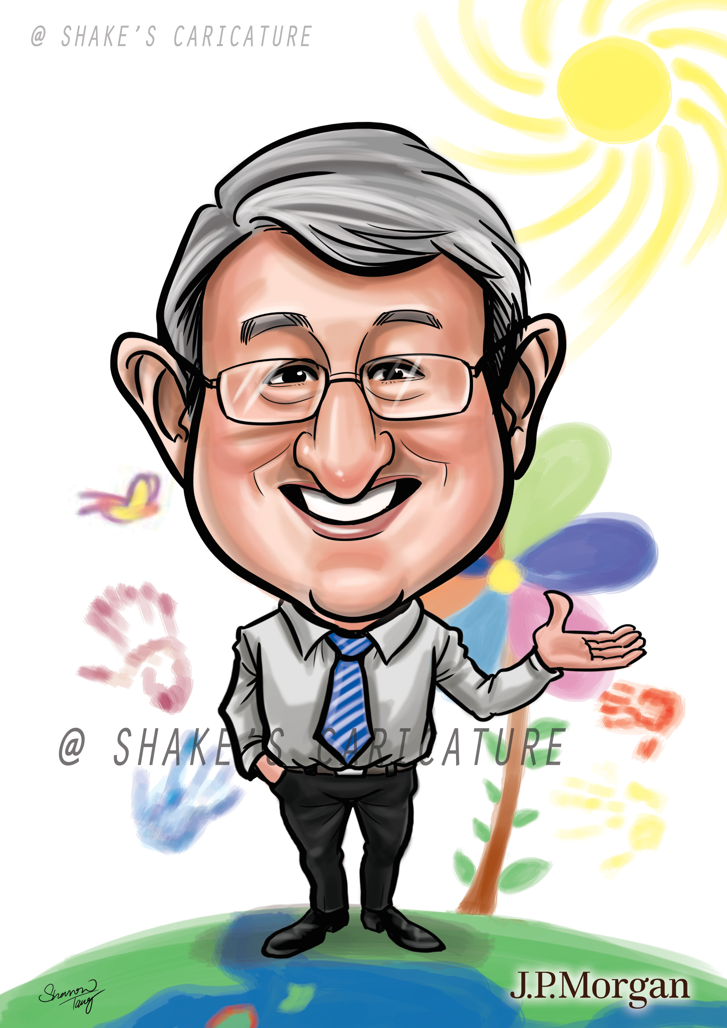 Farewell Caricatures Shake S Caricature