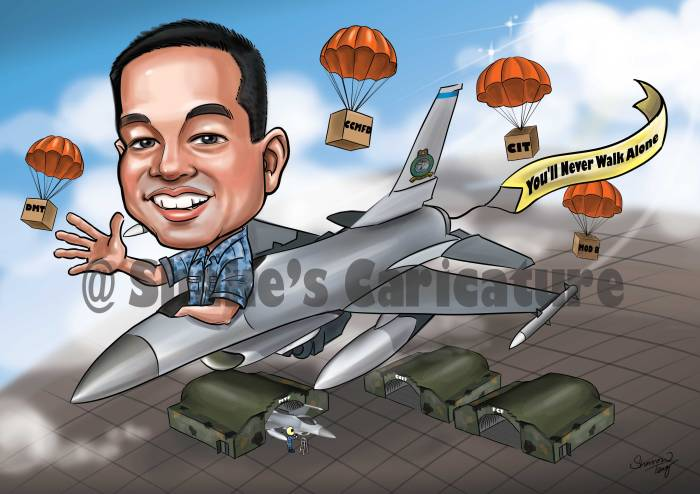 Farewell Caricature Army