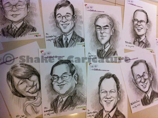 Caricature Gift Souvenir Employee Awards