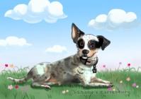pet_ dog caricature