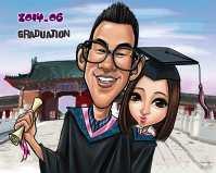 Graduate Caricature
