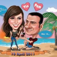 Couple Caricature _ Proposal