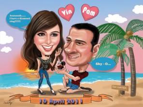 Couple Caricature _ Proposal